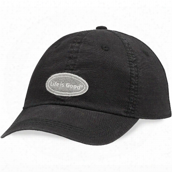 Life Is Good Classic Ripstop Chill Cap (night Black)