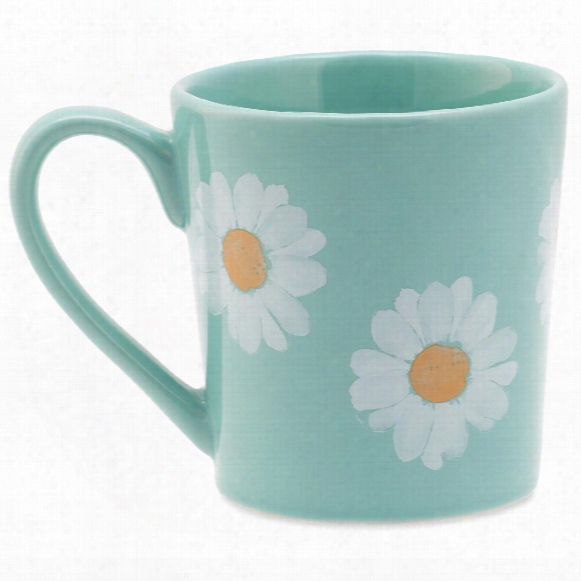 Life Is Good Daisy Watercolor Everyday Mug