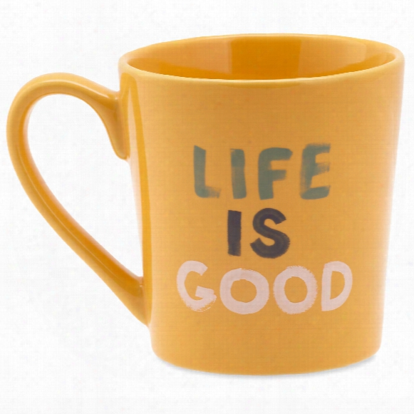 Life Is Good Lig Watercolor Everyday Mug