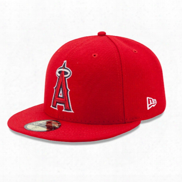 Los Angeles Angels 2017 59fifty Authentic Fitted Performance Game Mlb Baseball