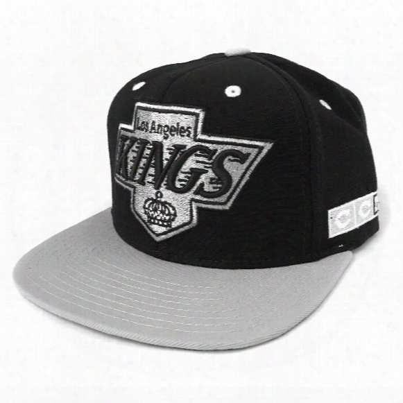 Los Angeles Kings Ccm Vintage 2-tone Snapback Cap (black)