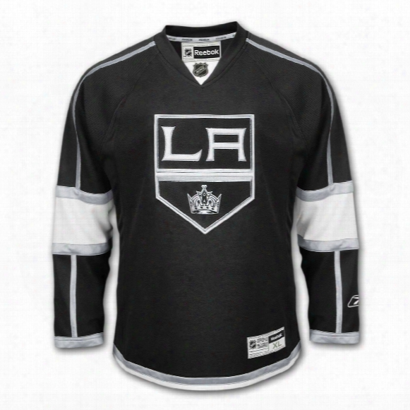 Los Angeles Kings Reebok Premier Youth Replica Home Nhl Hockey Jersey