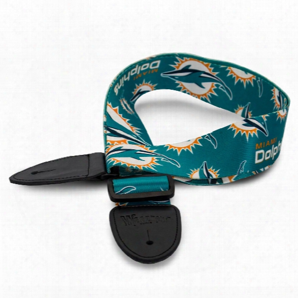 Miami Dolphins Nfl Guitar Strap