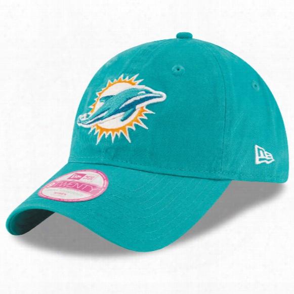 Miami Dolphins Women's Team Glisten Relaxed Fit 9twenty Cap