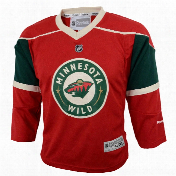 Minnesota Wild Reebok Toddler Replica (2-4t) Home Nhl Hockey Jersey