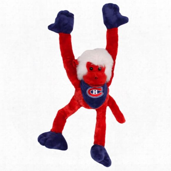 Montreal Canadiens 27 Inch Plush Slider Monkey