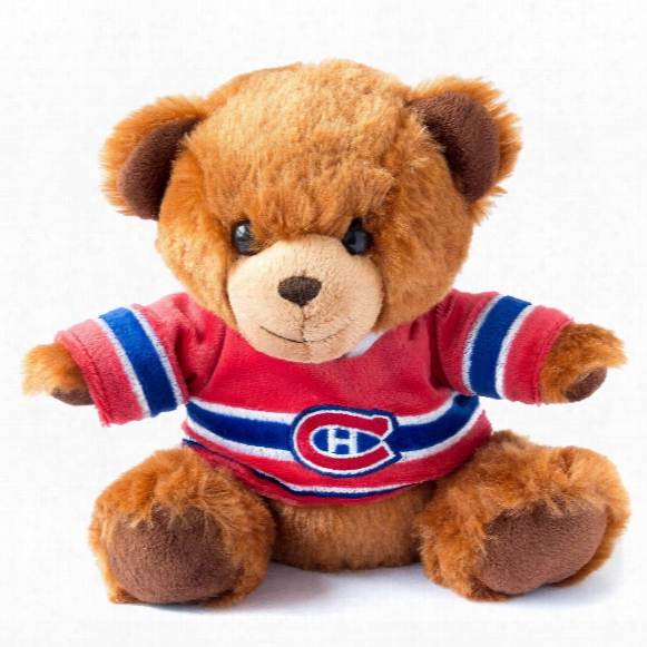 Montreal Canadiens 7.5 Inch Jersey Sweater Bear