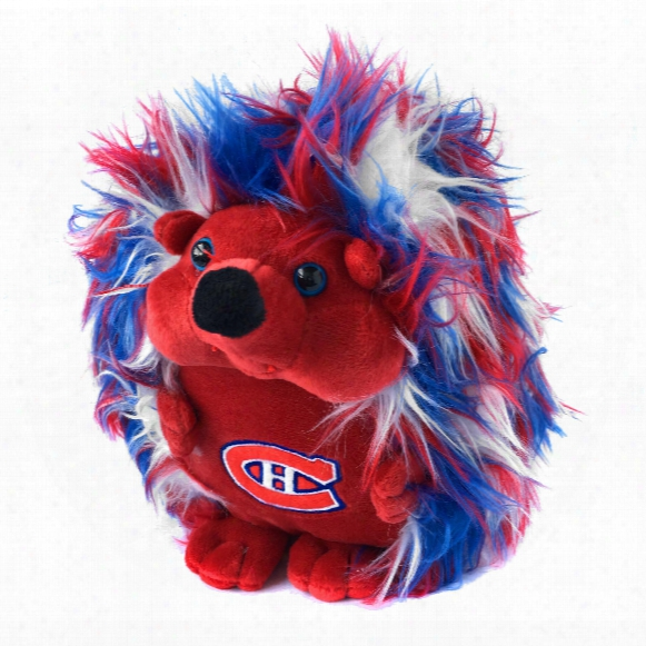 Montreal Canadiens 8 Inch Fluffy Hedgehog