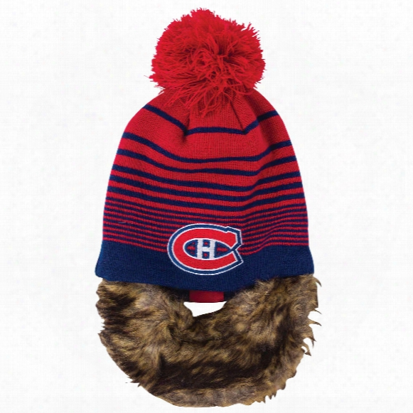 Montreal Canadiens Bertram Knit Hat With Removable Beard
