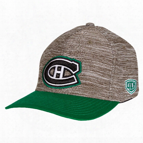 Montreal Canadiens Daray St. Patty's Day Stretchfit Cap