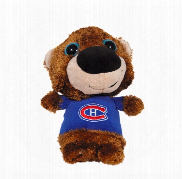 Montreal Canadiens Plush Big Eyed Bear