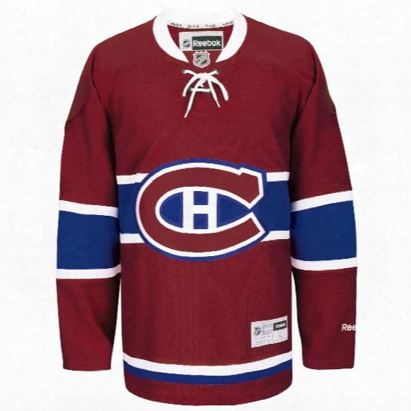 Montreal Canadiens Reebok Premier Replica Home Nhl Hockey Jersey