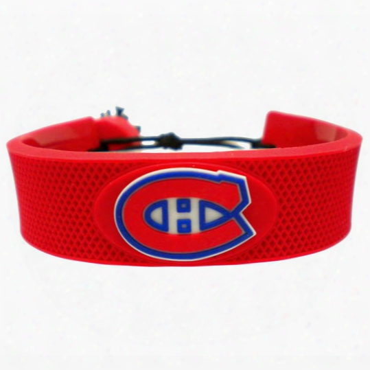 Montreal Canadiens Team Color Hockey Bracelet