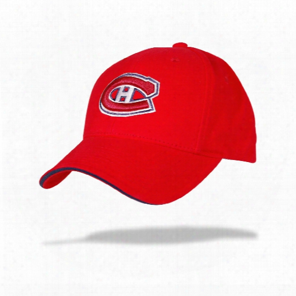 Montreal Canadiens Youth Replica Cap (red)
