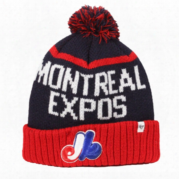 Montreal Expos Cooperstown Cuff Knit Hat