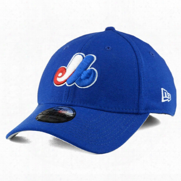 Montreal Expos Cooperstown Mlb Team Classic 39thirty Cap (royal)