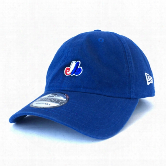 Montreal Expos Micro Logo Dad Relaxed Fit 9twenty Cap (royal)