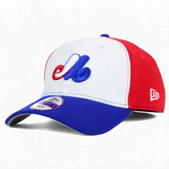 Montreal Expos Youth 9forty Pinch Hitter Tri-color Cap