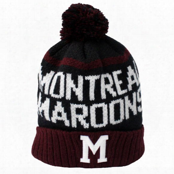 Montreal Maroons Vintage Linesman Cuff Knit Hat