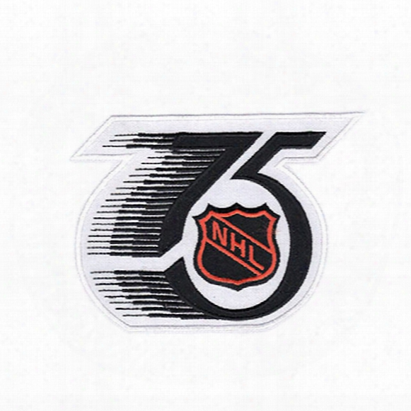National Hockey League Nhl 75th Anniversary Jersey Patch 1991/92 Season