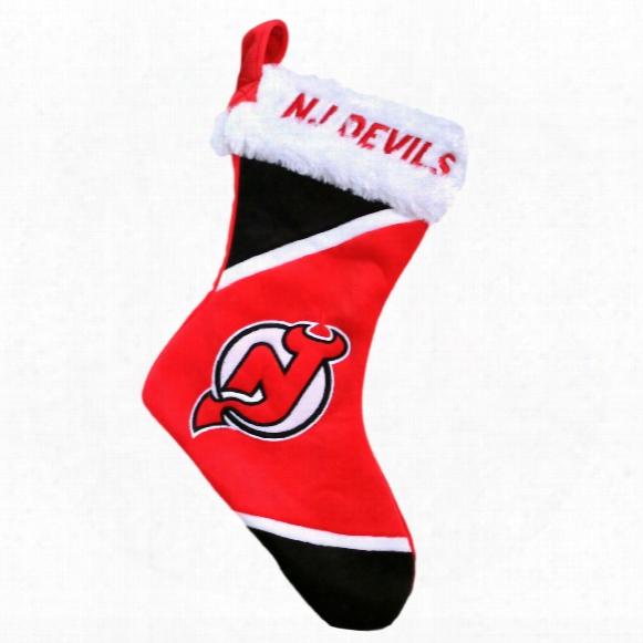 New Jersey Devils 17 Inch Christmas Stocking