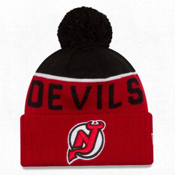 New Jersey Devils New Era Nhl Cuffed Sport Knit Hat