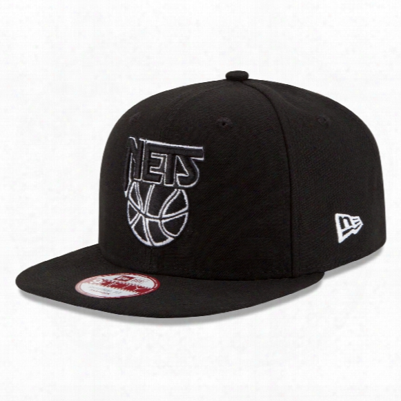 New Jersey Nets New Era 9fifty Nba Basic Snapback Cap