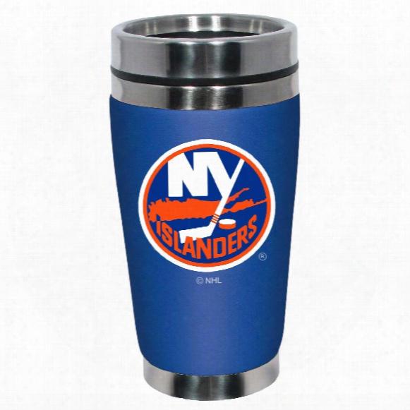 New York Islanders Mugzie Neoprene 16 Oz. Tumbler
