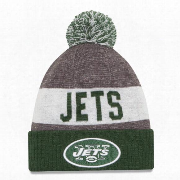 New York Jets New Era 2016 Nfl Official Sideline Sport Knit Hat