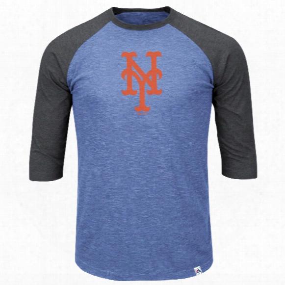 New York Mets Grueling Ordeal 3 Quarter Sleeve T-shirt