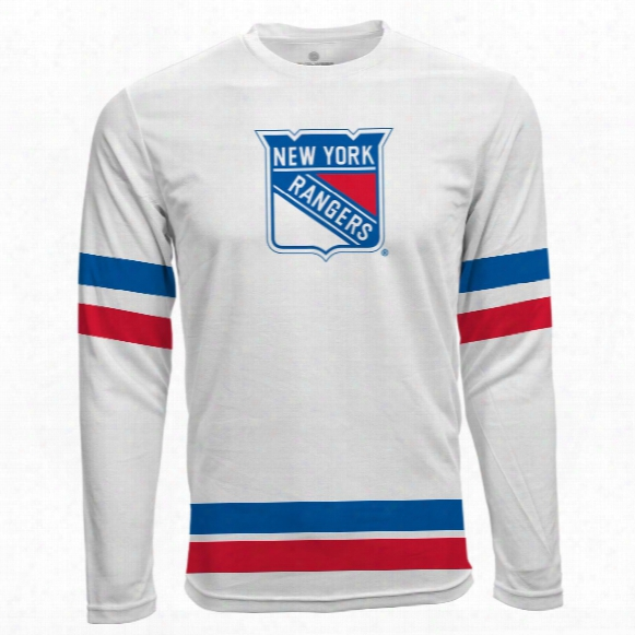 New York Rangers Authentic Scrimmage Fx Long Sleeve T-shirt