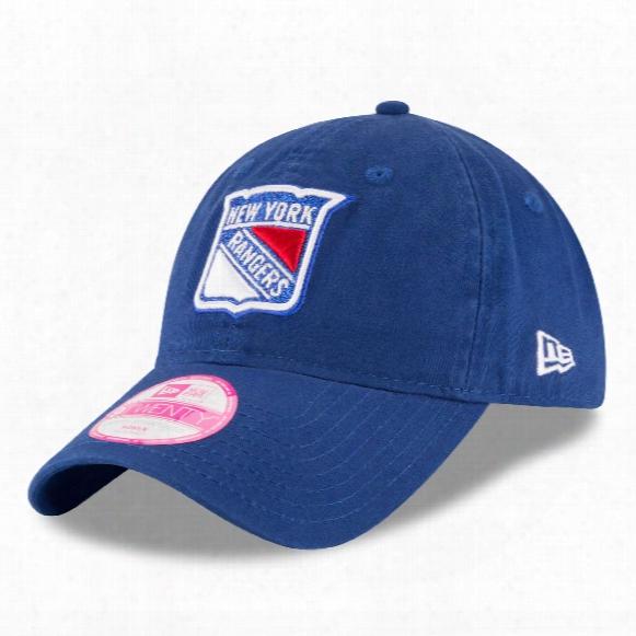 New York Rangers Women's Team Glisten Relaxed Fit 9twenty Cap