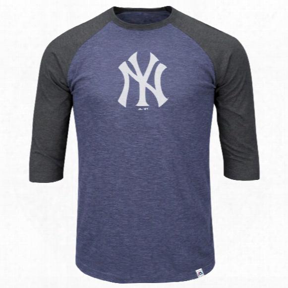 New York Yankees Grueling Ordeal 3 Quarter Sleeve T-shirt