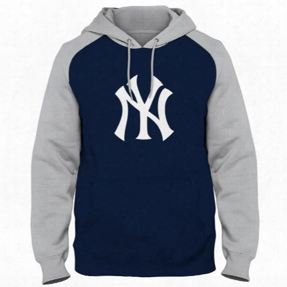 New York Yankees Twill Logo Raglan Express Hoody