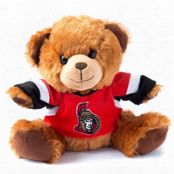 Ottawa Senators 7.5 Inch Jersey Sweater Bear