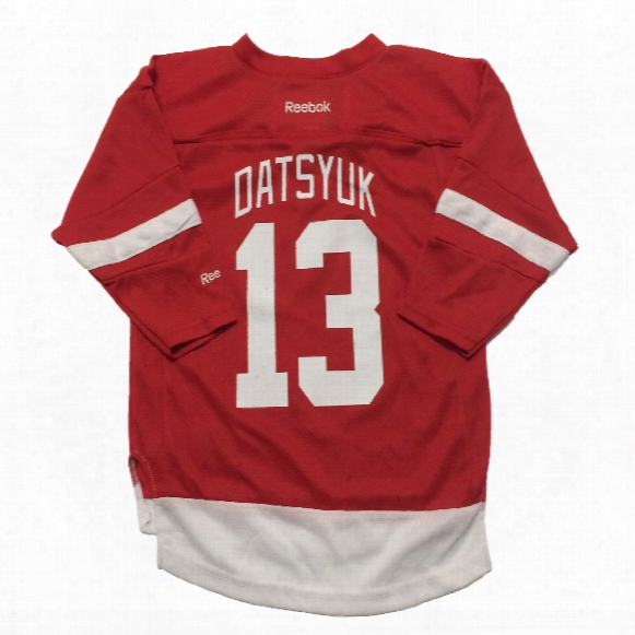 Pavel Datsyuk Detroit Red Wings Reebok Child Replica Home Nhl Hockey Jersey