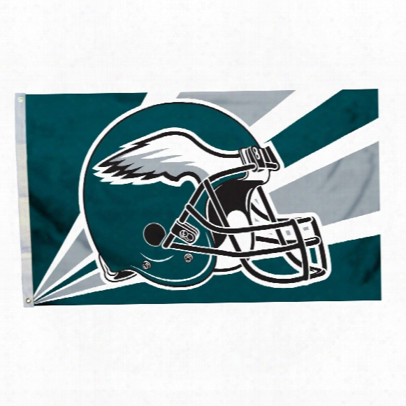 Philadelphia Eagles 3' X 5' Helmet Flag