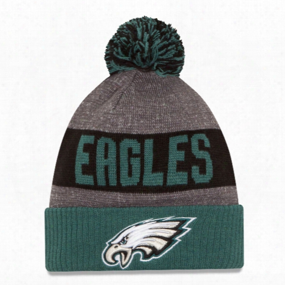 Philadelphia Eagles New Era 2016 Nfl Official Sideline Sport Knit Hat
