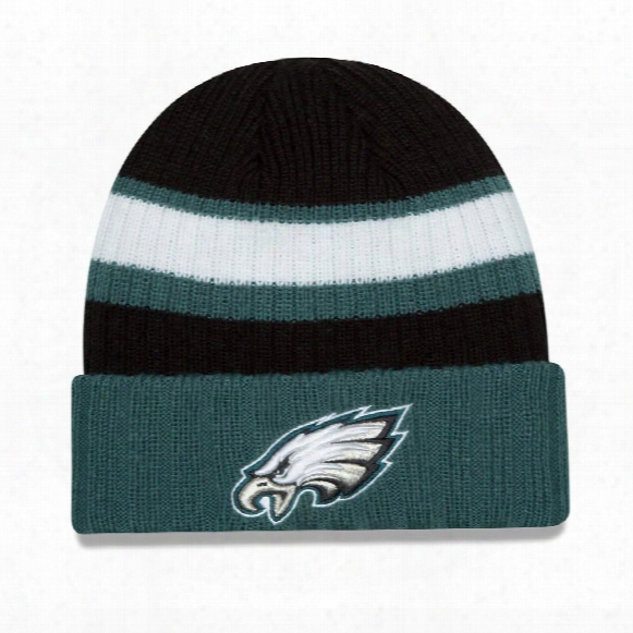Philadelphia Eagles New Era Nfl Rib Start Cuff Knit Beanie