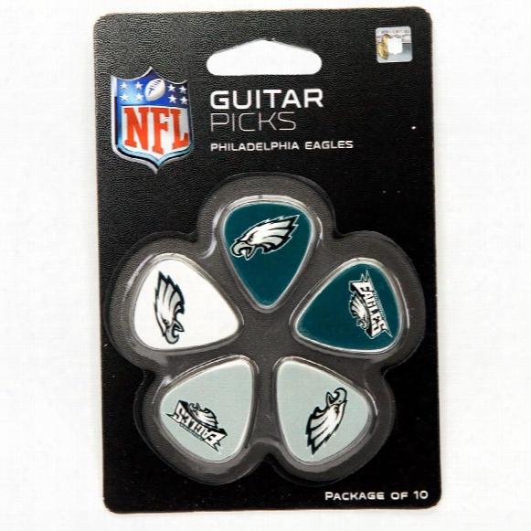Philadelphia Eagles Woodrow Guitar 10-pack Guitar Picks