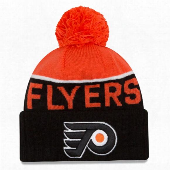 Philadelphia Flyers New Era Nhl Cuffed Sport Knit Hat