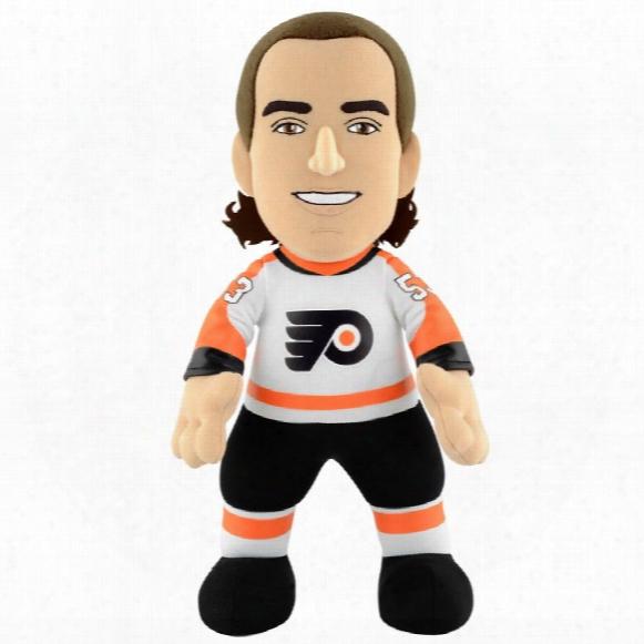 """Philadelphia Flyers Shayne Gostisbehere 10"""" Nhl Plush Bleacher Creature"""
