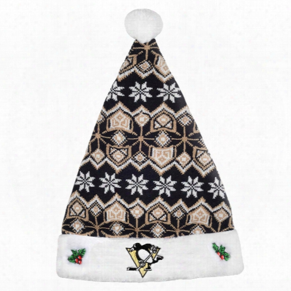 Pittsburgh Penguins Aztec Santa Hat