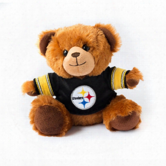 Pittsburgh Steelers 7.5 Inch Jersey Sweater Bear