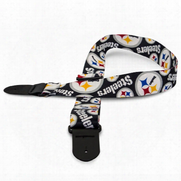 Pittsburgh Steelers Nfl Guitar Strap