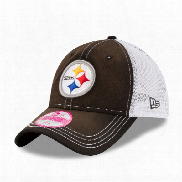 Pittsburgh Steelers Women's Spirited Lightly Structured 9twenty Cap