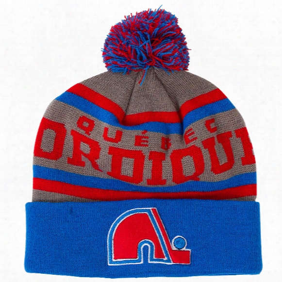 Quebec Nordiques Gravel Cuff Knit Hat
