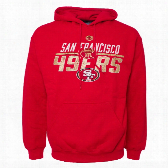 San Francisco 49ers Nfl Blitz Hoodie