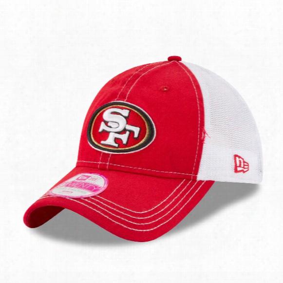 San Francisco 49ers Women's Spirited Lightly Structured 9twenty Cap