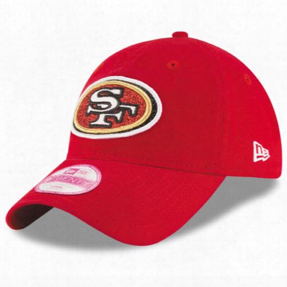 Sam Francisco 49ers Women's Team Glisten Relaxed Fit 9twenty Cap